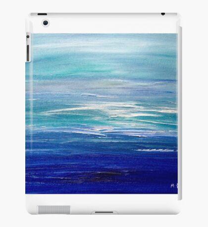Sea oil painting iPad Case/Skin