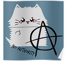 anarchy cat Poster