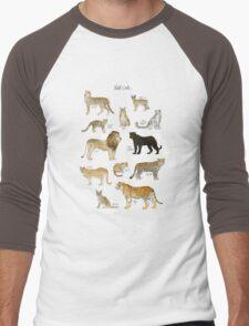 Wild Cats Men's Baseball ¾ T-Shirt