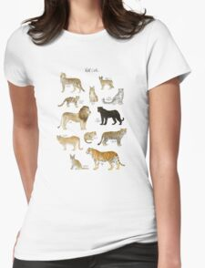 Wild Cats Womens Fitted T-Shirt