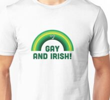 Character Building - Irish and Gay Unisex T-Shirt