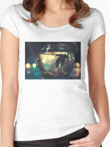Only Me! Women's Fitted Scoop T-Shirt