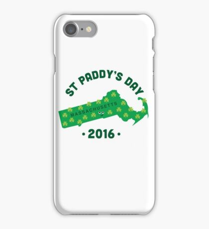 Character Building - Massachusetts State iPhone Case/Skin
