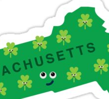 Character Building - Massachusetts State Sticker