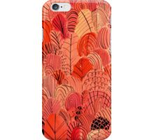 Red Foliage  iPhone Case/Skin