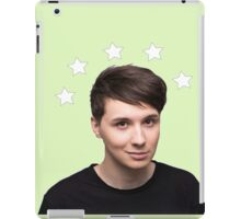 Dan Howell Star Halo - Green iPad Case/Skin