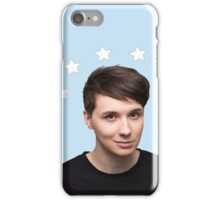 Dan Howell Star Halo - Baby Blue iPhone Case/Skin