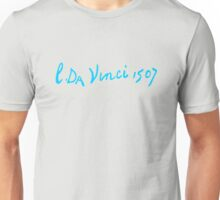 Leonardo da Vinci - Signature Unisex T-Shirt