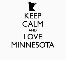 KEEP CALM and LOVE MINNESOTA Unisex T-Shirt
