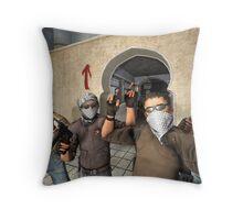 CS GO terrorists Throw Pillow