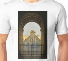 Waiting for the Louvre to Open Unisex T-Shirt
