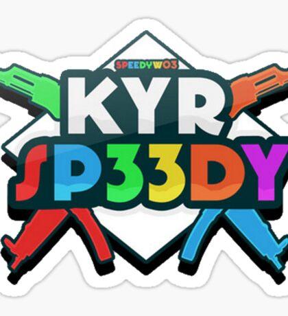 KYR Sp33dy logo Sticker