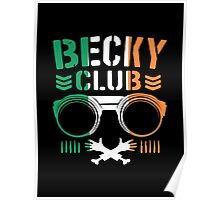 Becky Club Poster