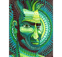 Man in Green Photographic Print