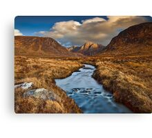 Poison Glen Evening Canvas Print
