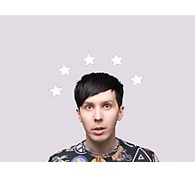 Phil Lester Star Halo - Lavender Photographic Print