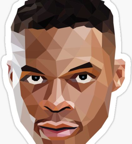 Russell Westbrook Lowpoly Sticker
