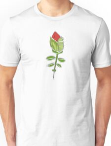 wired weed rose pink Unisex T-Shirt