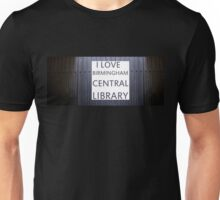 i love birmingham central library #2 Unisex T-Shirt