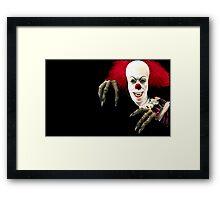 Stephen King-It Framed Print