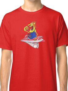 Galaxy drive through..in space everyone gets hungry Classic T-Shirt
