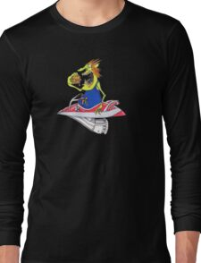 Galaxy drive through..in space everyone gets hungry Long Sleeve T-Shirt