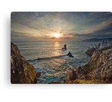 Achill Island Sunset Canvas Print