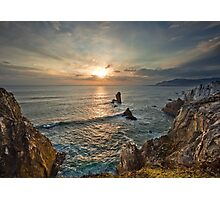 Achill Island Sunset Photographic Print