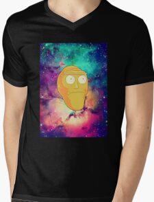 Morty Moon. Mens V-Neck T-Shirt