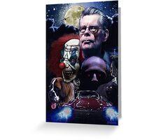 Stephen King- best sellers Greeting Card
