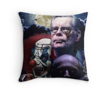 Stephen King- best sellers Throw Pillow