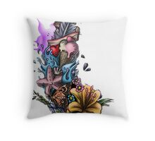 Rara avis Throw Pillow
