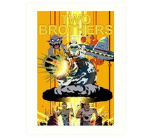 TWO BROTHERS Art Print