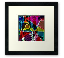 Modern Art | Vibrant Design | Contemporary | Abstract Framed Print