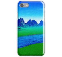 Mountain River Landscape iPhone Case/Skin