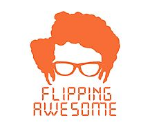 Flippin' Awesome Photographic Print