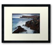 Glen Bay Donegal Framed Print