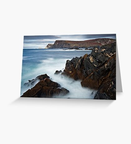 Glen Bay Donegal Greeting Card