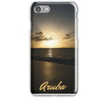 Sunset Aruba iPhone Case/Skin