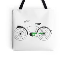Old Style Bicycle Tote Bag