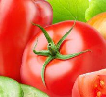 Mixed fresh vegetables Sticker