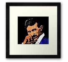Nikola Tesla-2 Framed Print