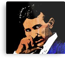 Nikola Tesla-2 Metal Print
