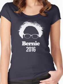 Bernie Sanders For President Women's Fitted Scoop T-Shirt