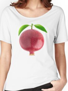 Pomegranate with leaves Women's Relaxed Fit T-Shirt