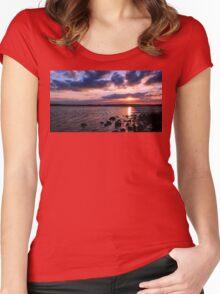 Night, Night...Sweet Sun Women's Fitted Scoop T-Shirt