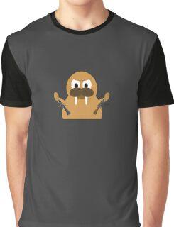 Tough Walrus Graphic T-Shirt