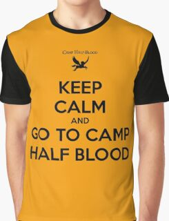 keep calm and go to camp half blood Graphic T-Shirt