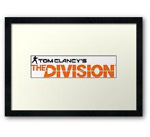 The Divison Framed Print