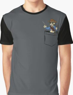 Reach for the sky!.. I mean your pocket. Graphic T-Shirt